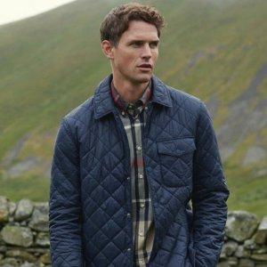 3折起!£10收T恤Barbour 热促 皇室御用品牌 T恤、夹克、卫衣低价