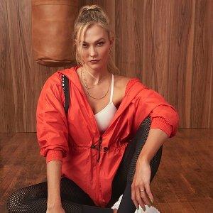 $60起包邮 又美又攻adidas x Karlie Kloss 联名 $90收KK同款透视legging
