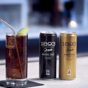 现价$13.6 每罐只需$1.13Pepsi Cola 百事可乐 1893原味配方 12罐装