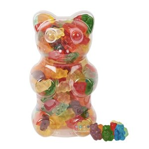 Dylan's Candy BarFilled Gummy Bear Container