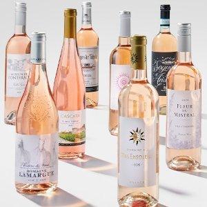 $69.99 一瓶只需$5WSJwine 精选14瓶桃红葡萄酒套装限时特惠,立省$135