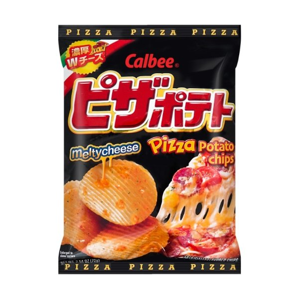 CALBEE卡乐B 比萨味薯片 72g