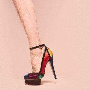 限时免邮Charlotte Olympia 美鞋美包热卖 猫咪鞋呆萌款让你从头萌到脚!
