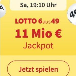 周三/六开奖  6次机会仅€1Lotto 6aus49 奖金累计1100万欧元 无需身份验证 快试试运气