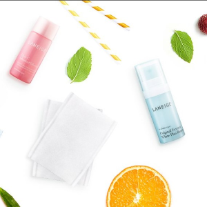 Receive a Clear-C Trial Kit and free shippingwith any $50 purchase @Laneige