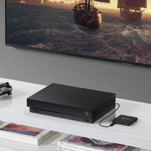 8折 €80收2TB 办公游戏皆可Seagate 希捷game driver4 可兼容PS4的移动硬盘 再多游戏也能载