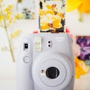 特惠 $69 (原价$89)Fujifilm Instax Mini 9 富士迷你拍立得相机 多色可选