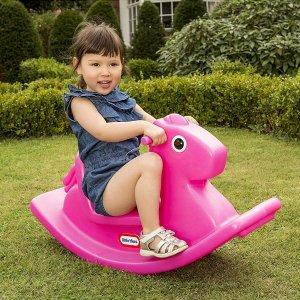 $46.86(原价$77.99)Little Tikes 摇摇马坐骑2色选,训练宝宝平衡系统的好帮手