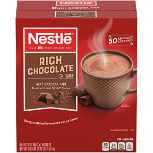 Nestle Hot Cocoa Mix, Rich Chocolate, 50 Count