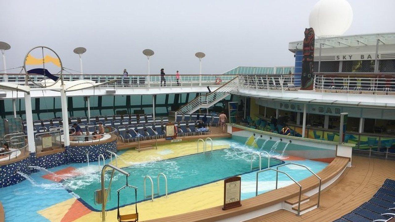 阿拉斯加皇家加勒比海洋灿烂号游轮+港口旅游攻略