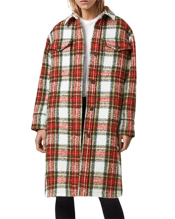 Nia 格子大衣