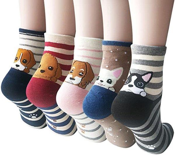 可爱小狗狗袜子