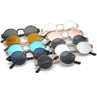 $15.99 (原价$19.99)Dollger 金属框架时尚太阳镜 多色可选