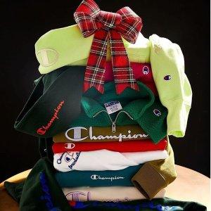 低至3折 $9.77收经典TChampion 冠军舒适休闲卫衣T恤系列