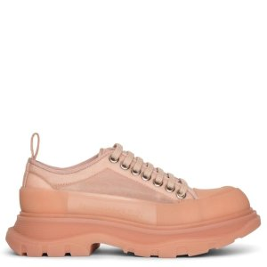 Alexander McQueen新款果冻底厚底鞋