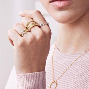买2送1  变相6.7折Pandora官网 精选戒指、耳饰热卖