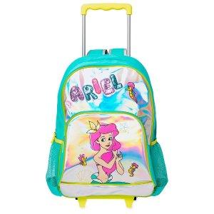Disney小美人鱼拉杆箱书包
