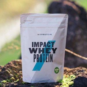 低至4折+额外7.5折MyProtein 健身辅助营养品 全场大促 快囤蛋白粉、曲奇