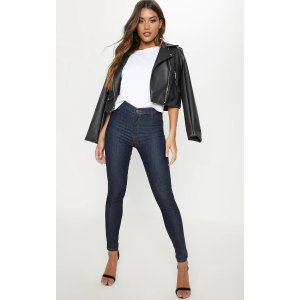 PrettyLittleThingIndigo Disco Fit Skinny Jeans