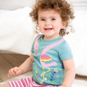 8折 柔软透气,穿着舒适JoJo Maman Bébé 儿童、孕妈妈睡衣特卖