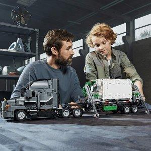$189.98(原价$229.99)2595块LEGO  马克卡车 乐高迷剁手也要入的发烧系列