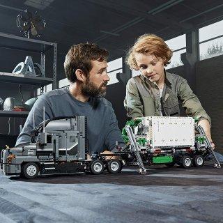 $183.97(原价$229.99)2595块LEGO  马克卡车 乐高迷剁手也要入的发烧系列