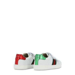 Gucci经典小白鞋