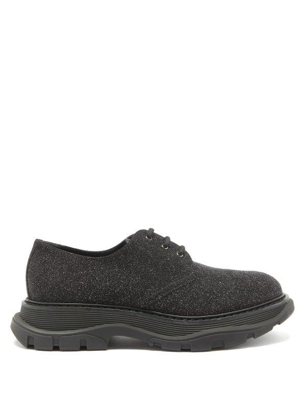 厚底小黑鞋