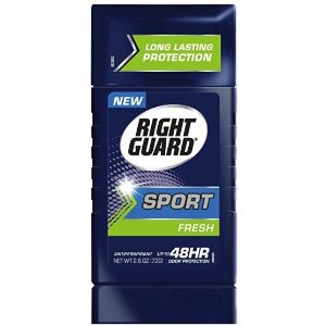 $11.82Right Guard Sport Antiperspirant Up To 48HR, Fresh 2.6 oz ( Pack of 6 ) @ Amazon.com