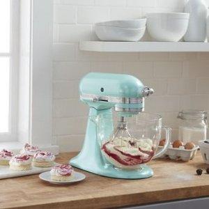 Azure Blue Artisan 5夸脱厨师机