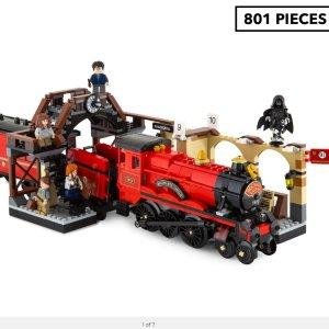$110(原价$139.9)Lego 哈利波特:霍格沃茨车站 801pieces