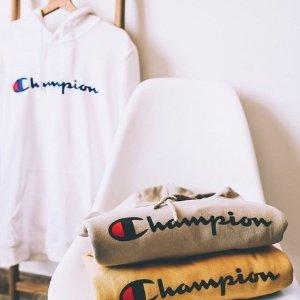 低至5折+免邮,妹子买小号Nordstrom官网 Champion,adidas,Nike,北面等男装促销