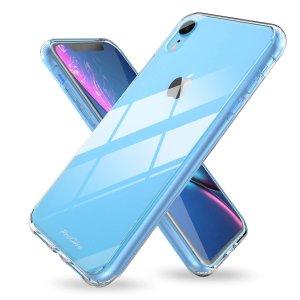 $6.99(原价$9.99)iPhone XR 透明保护壳 无线充电板照常工作