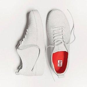 FitFlop4色可选!鞋底专利设计 上脚轻便透气Tonal Mesh 运动鞋!