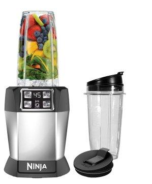 $44.49史低价:Ninja BL480D 家用食物搅拌机套装