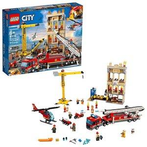 LegoCity 系列 消防救援队 60216,2019新款