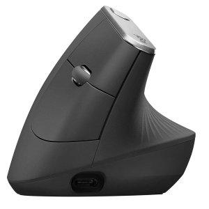 Logitech MX Vertical 人体工学 蓝牙2.4G双模鼠标