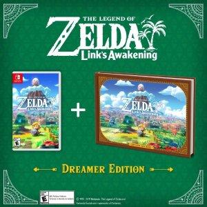 $69.99《塞尔达传说 织梦岛 梦想家版》Switch 实体版