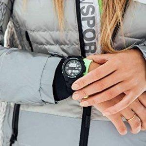 Casio运动手表 Analog-Digital Quarz Uhr mit Harz Armband BAX-100-1AER