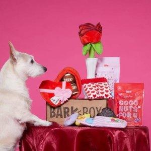 $5 收情人节限量版折扣升级:Barkbox 狗狗神秘订阅礼盒 为你家汪汪准备的专属礼物盒