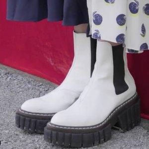 4折起 logo钱包€178Stella McCartney 夏促 美鞋、包包直降 链条平底凉鞋€238