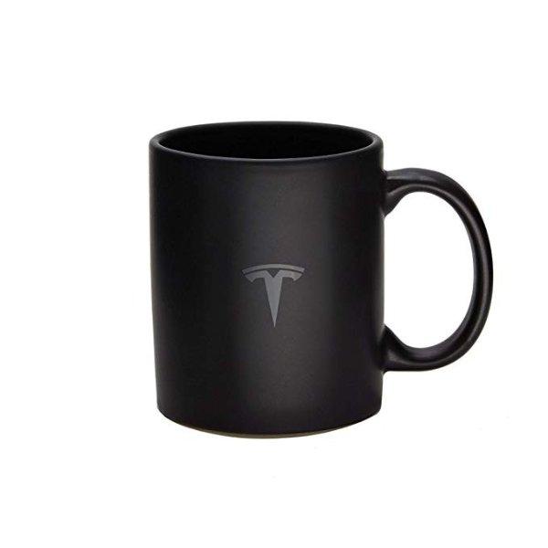 纯黑磨砂马克杯