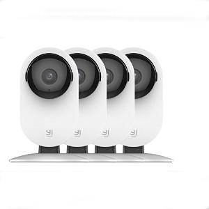 $82.60YI 1080p 家庭室内安防摄像头 4个装