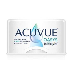 AcuvueOasys 变色美瞳  双周抛 6片