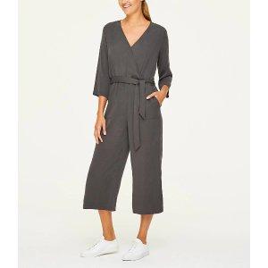 LOFT Outlet买满$100减$20系带连体裤