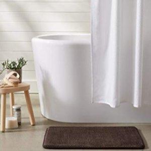 AmazonBasics Textured Memory Foam Bath Mat
