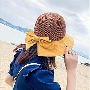 $17.99三色可选Pesaat 甜美蝴蝶结遮阳帽 UPF50+强抗紫外线