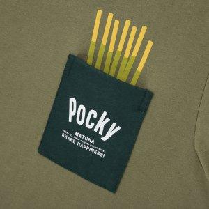 Uniqlo X  Okashi 零食合作款  把Meji 不二家 和Pocky穿身上