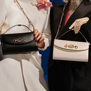 5折起 樱花粉链条包有货Gucci专场,黑金相机包$920