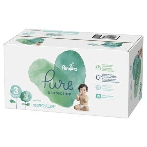 Pampers Pure Protection Diapers Size 3 92 Count - Walmart.com